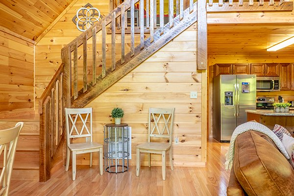 Foyer at Relaxation Ridge, a 2 bedroom cabin rental located in Pigeon Forge