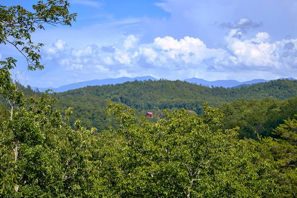 Smoky Mountain Views at Mountain Wonderland, a 3 bedroom cabin rental located in Pigeon Forge