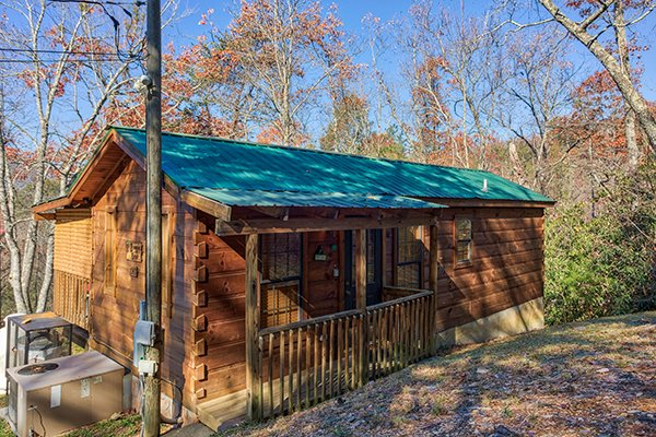 boogie bear a 1 bedroom cabin rental located in gatlinburg