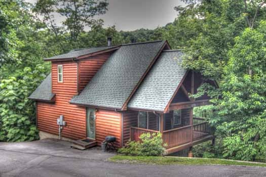 knotty & nice a 1 bedroom cabin rental located in gatlinburg