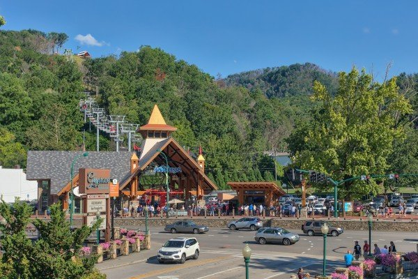 You are minutes' walking distance from Anakeesta at Heart of Gatlinburg, a 2-bedroom Gatlinburg cabin rental