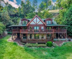 at lookout lodge a 5 bedroom cabin rental located in pigeon forge