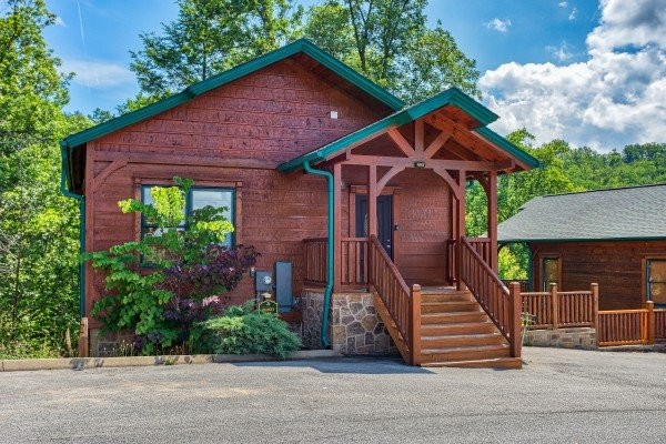 Heaven's Dew, a 1-bedroom cabin rental located in Gatlinburg