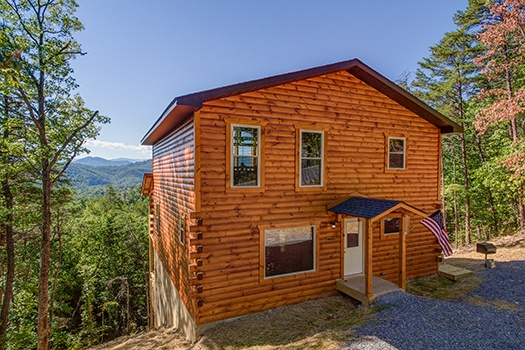 at canyon camp falls a 2 bedroom cabin rental located in pigeon forge