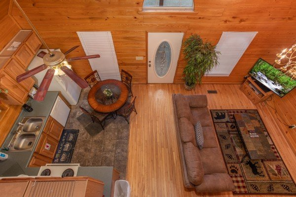 at eastern retreat a 1 bedroom cabin rental located in gatlinburg