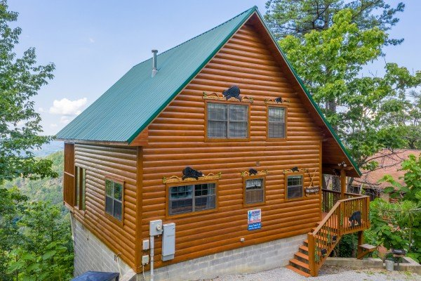 Away From it All, a 1 bedroom cabin rental located in Pigeon Forge