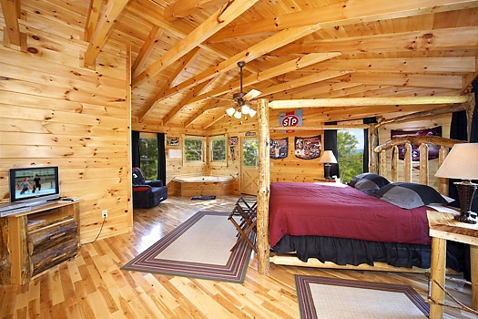 Nascar Nation A Gatlinburg Cabin Rental