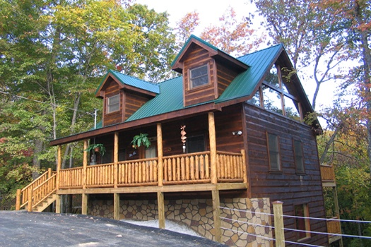 Dragonfly, a 2-bedroom cabin rental located in Gatlinburg