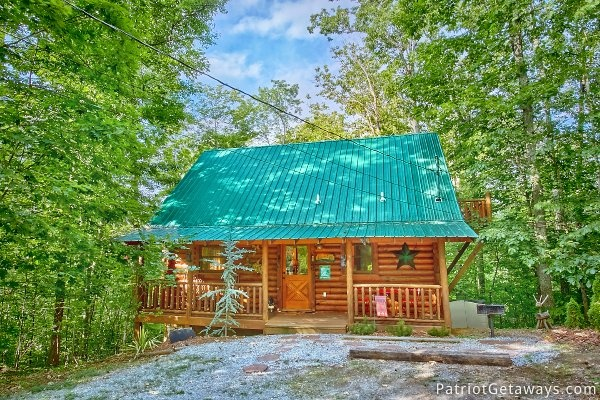 a bear's view a 1 bedroom cabin rental located in gatlinburg