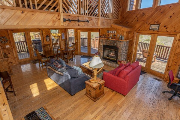 at hatcher mountain retreat a 2 bedroom cabin rental located in pigeon forge