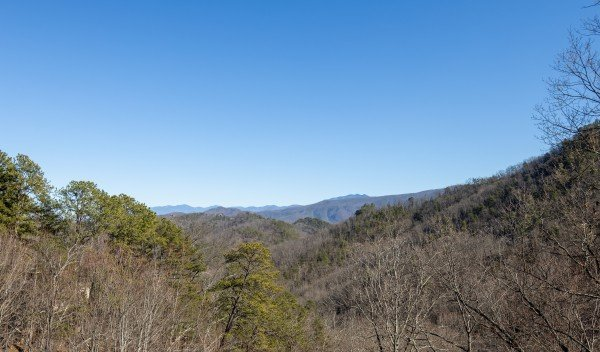 View at Hatcher Mountain Retreat a 2 bedroom cabin rental located in Pigeon Forge