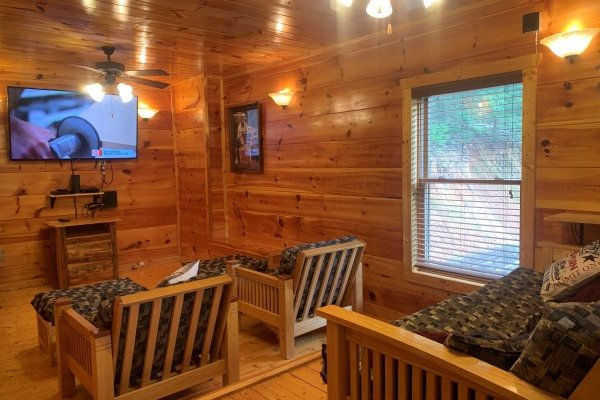 at altitude adjustment a 1 bedroom cabin rental located in pigeon forge