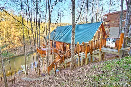 fishin' hole a 1 bedroom cabin rental located in gatlinburg