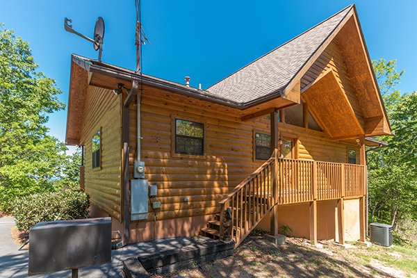Ridge View, a 1 bedroom cabin rental located in Pigeon Forge