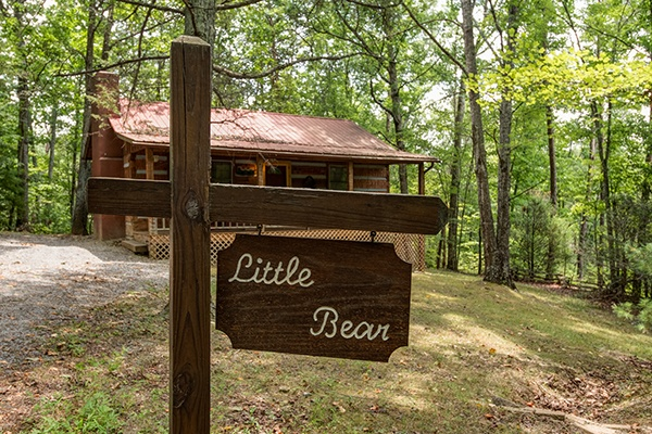 Little Bear, a 1 bedroom cabin rental located in Pigeon Forge