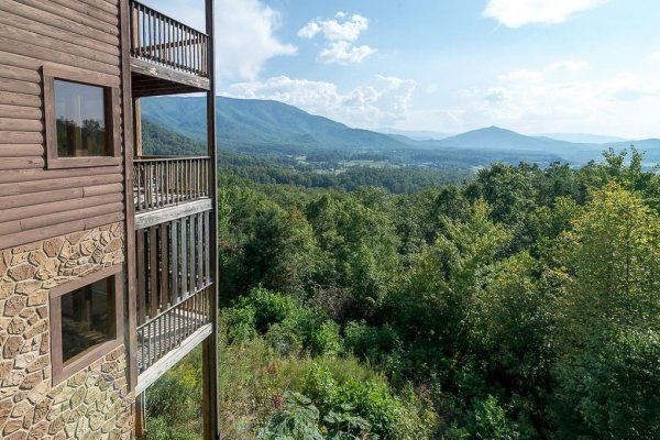 1 Awesome View, a 3 bedroom rental cabin in Pigeon Forge