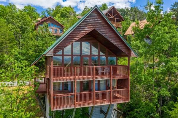at smoky mountain high a 1 bedroom cabin rental located in pigeon forge