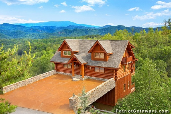 best view ever a pigeon forge cabin rental