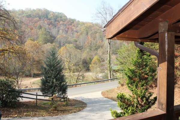 View of a hillside at Rustic Romance, a 2 bedroom cabin rental located in Pigeon Forge