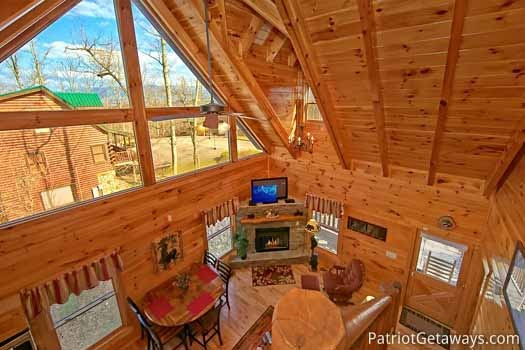 Tree top lodge a gatlinburg cabin rental Best mountain view cabins in gatlinburg tn