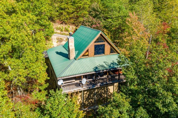 Alone Time, a 1 bedroom cabin rental located in Pigeon Forge