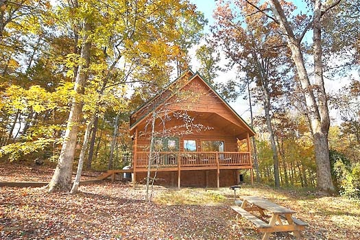 licklog hollow a 1 bedroom cabin rental located in pigeon forge