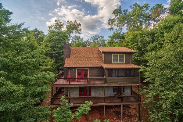 Wonders in the Sky, a 3 bedroom cabin rental located in Gatlinburg