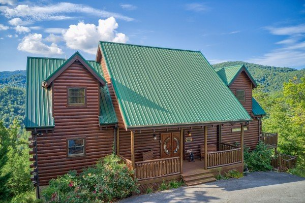 Majestic Views, a 3 bedroom cabin rental located in Pigeon Forge