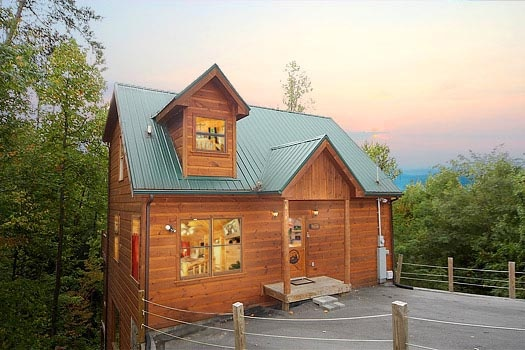 dear season a 1 bedroom cabin rental located in gatlinburg