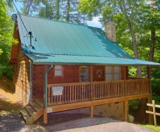 Wild Crush, a 1 bedroom cabin rental located in Pigeon Forge