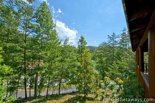 view of smoky mountains at pigeon forge pleasures a 3 bedroom cabin rental located in pigeon forge
