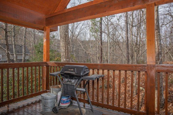 Grill at Mountain Laurel, a 1 bedroom cabin rental located in Gatlinburg