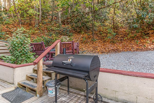 Grill at Up the Creek, a 4 bedroom cabin rental located in Gatlinburg