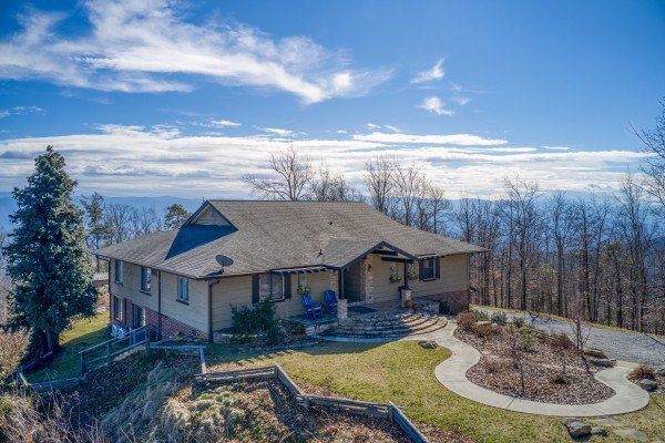 Stupendous Best View Ever A Pigeon Forge Cabin Rental Home Interior And Landscaping Pimpapssignezvosmurscom