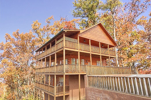 hickernut lodge a 5 bedroom cabin rental located in pigeon forge