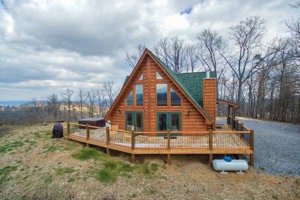 Looking at Pigeon Forge Panorama, a 2 bedroom cabin rental located in Pigeon Forge