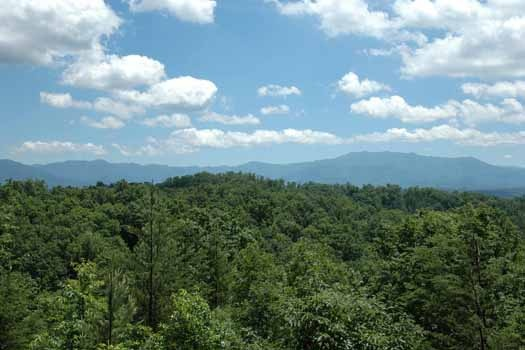 relaxing panoramic views of the smoky mountains from a point of view a 1 bedroom cabin rental located in pigeon forge