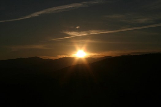 Sun over the Smokies at Southern Sunrise, a 4 bedroom cabin rental located in Pigeon Forge