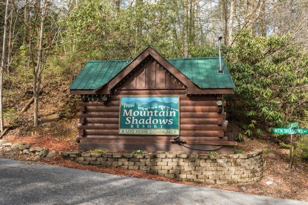 Precious View, a 1 bedroom cabin rental located in Gatlinburg is in Mountain Shadows Resort
