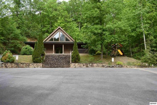 Clubhouse access for guests at Skyline Retreat, a 2 bedroom cabin rental located in Sevierville