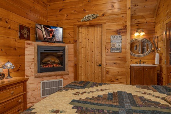 at mountain breeze a 1 bedroom cabin rental located in pigeon forge