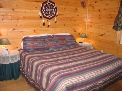Dream Catcher Above Bed Dream Catcher A Pigeon Forge Cabin Rental 37