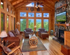 Wagon Wheel Cabin