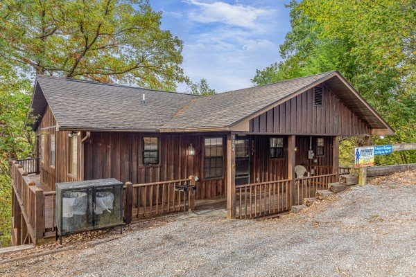 Pampered Campers, a 3 bedroom cabin rental located in Pigeon Forge