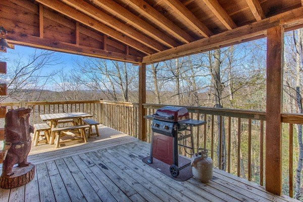 at hooked on cowboys a 2 bedroom cabin rental located in pigeon forge