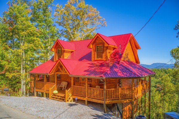 Panorama, a 2 bedroom cabin rental located in Pigeon Forge