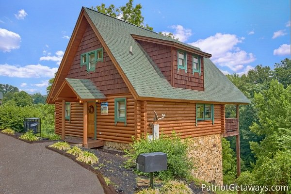 hanky panky a 1 bedroom cabin rental located in pigeon forge