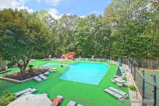 Chalet Village Resort Kids Pool at Bushwood Lodge, a 3-bedroom cabin rental located in Gatlinburg