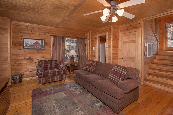 at sunny side up a 2 bedroom cabin rental located in gatlinburg