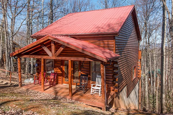 Sunny Side Up, a 2 bedroom cabin rental located in Gatlinburg